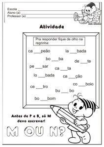 Atividades Educativas M ANTES DE P E B