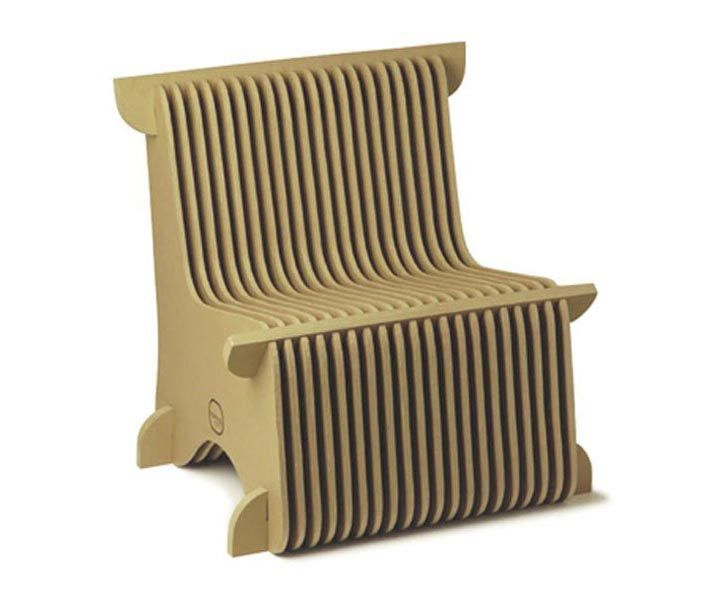 21 best cool designs images on pinterest cardboard chair cardboard furniture and cartonnage - Diy cardboard furniture design ...
