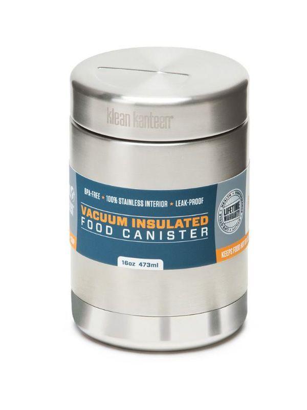 Klean Kanteen® 473 ml isolierter Lebensmittelbehälter (vakuumisoliert, auslaufsicher), 44,95 €