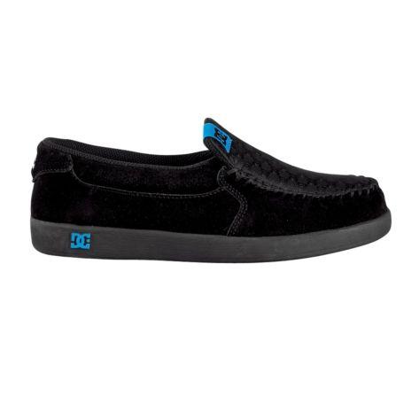 Womens Dc Villain Skate Shoe Black Turquoise