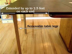Our Table Extenders Increase The Size Of Your Table By Up To 5 Feet    Cohenu0027s Garden State Table Pad Corp.