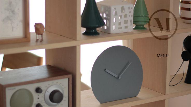 【楽天市場】menu Steel Stand Clock スチールスタンドクロックmenu メニュー NORM置き時計/時計/シンプル/クロック/スチール【RCP】:Shinwa Shop 楽天市場店