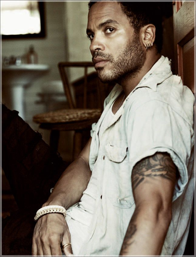 Lenny Kravitz - makes my <3 swoon & my liver quiver!