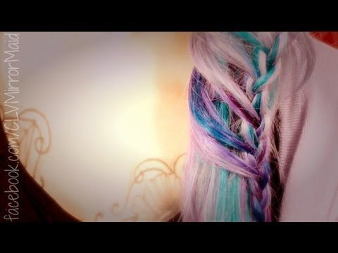 Ladder Braid/ Leiter Zopf Tutorial by Cira Las Vegas (german) - YouTube