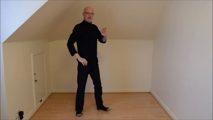 Learn the mime slow motion walk