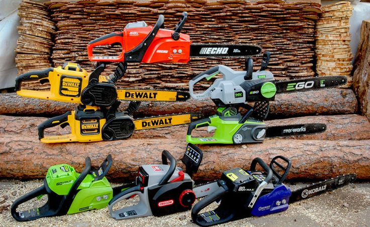 Best Battery-Powered Chainsaw Shootout Feature