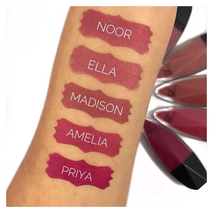 Top Five Favorite Lady Burgundy Matte Lip Creams | Giveaway