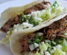 Shredded beef tacos, Thermomix