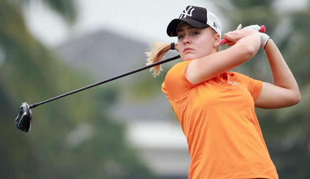 Charley Hull looking for 'Rookie of the Year' title with a victory in Omega Dubai Ladies Masters | UAE Golf News #uaegolf #dubai #golf