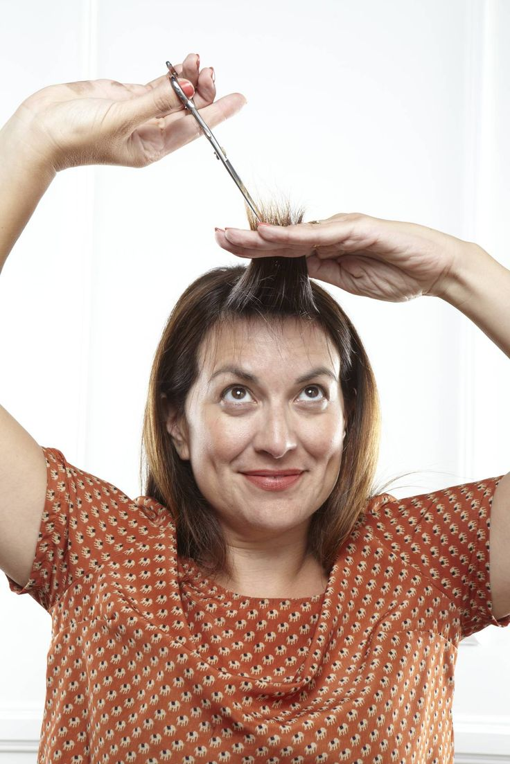 how to trim bangs at home without screwing up