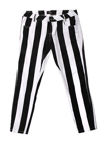 Striped Free 2BU Pants