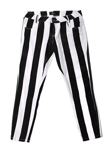 Striped Free 2BU Pants