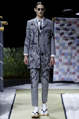 Thom Browne Spring 2016 Menswear Fashion Show: Complete Collection - Style.com