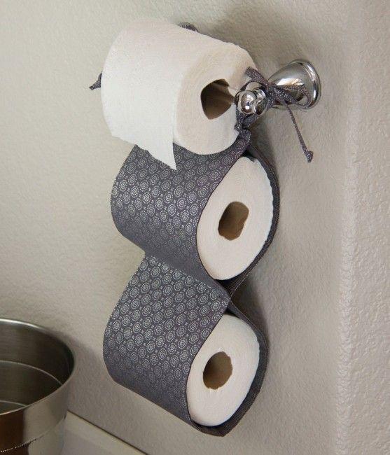 Las 25 mejores ideas sobre porta papel en pinterest y m s for Accesorios bano papel higienico