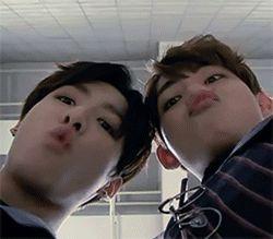 Yep, I'm definitely older then them. Lol #taehyung #jungkook #bts