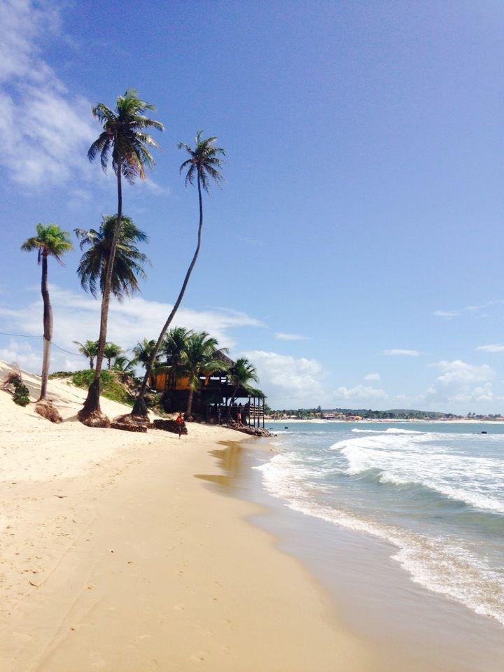 Praia de Genipabu em Extremoz, RN