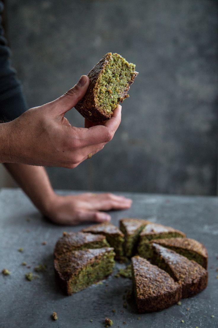 Flourless Pistachio Cake by cookrepublic #Cake Pistachio #Almond #GF