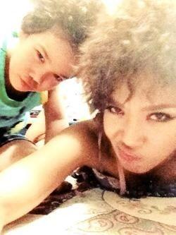 Yoon Mi Rae (Tasha) and her super cute son Jordan