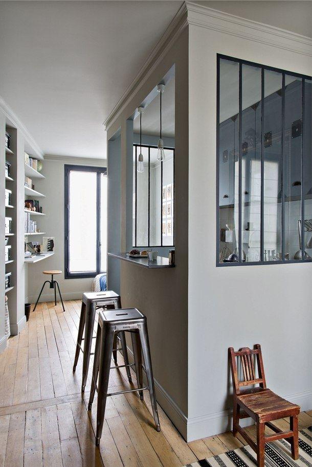 Студенческая квартира в Париже площадью 25 кв.м. - Дизайн интерьеров | Идеи вашего дома | Lodgers