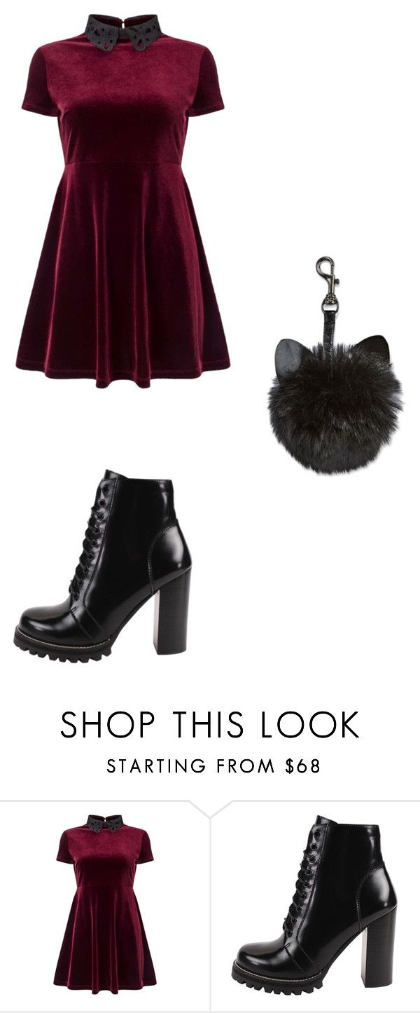"""""""Untitled #28"""" by margaretbistolfi on Polyvore featuring Miss Selfridge and Jeffrey Campbell"""