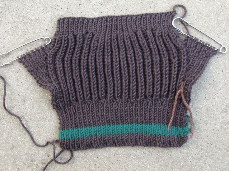 Freedom Mitts in the making