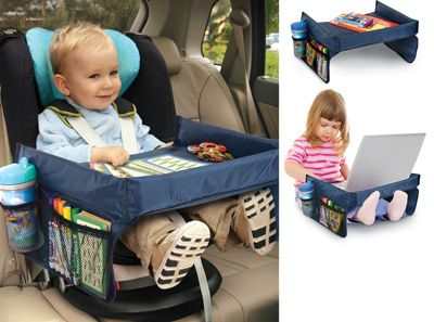 On the Go Play & Snack Kids Tray. Christmas Gift Idea