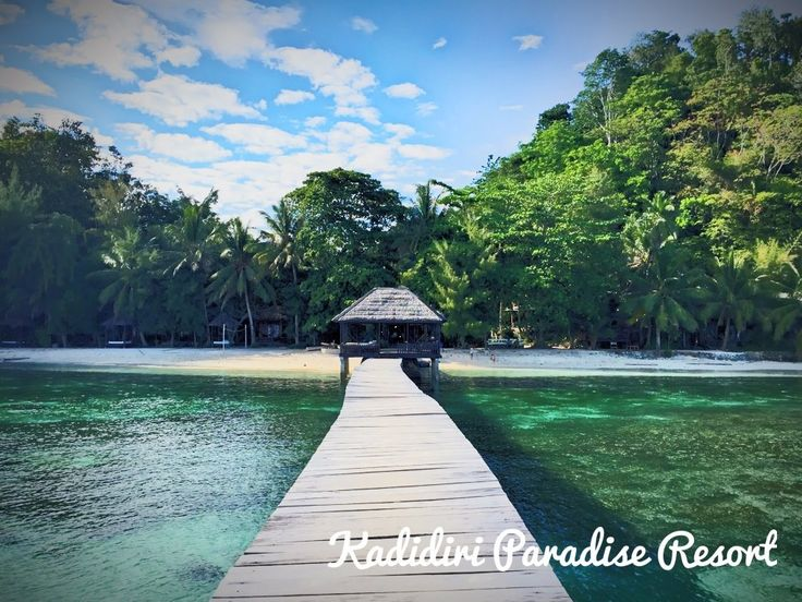 Kadidiri Paradise Resort, Togian Islands, Indonesia