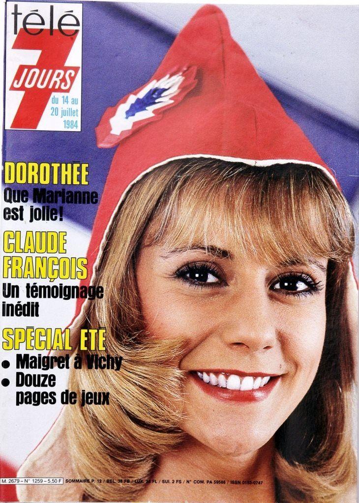 """Dorothée """"Marraine de France"""" 1984"""