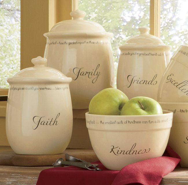 Set Of 3 Inspirations Canisters From Through The Country Door® Something  Any Mother, Sister, Daughter, Aunt, Friend Or Grandmother Would Love.