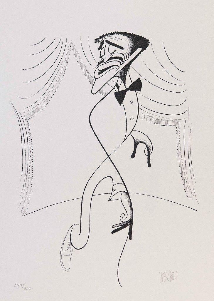 32 Of Al Hirschfeld's Greatest Celebrity Caricatures