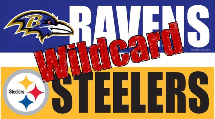 Ravens vs Steelers NFL Wildcard - Which NFL team in wild-card round is best suited for Super Bowl run? #stickers #decals