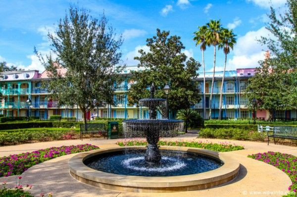 Disney's Port Orleans French Quarter Overview and Information