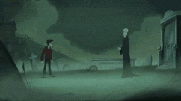 The greatest animated harry potter gif ever