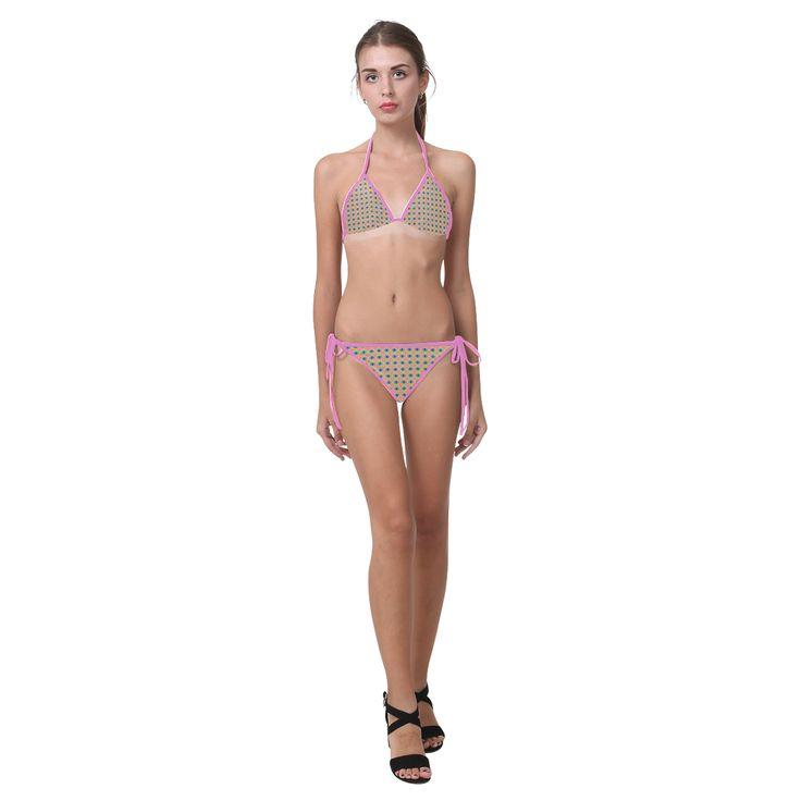 Strange Fruit Custom Bikini Swimsuit (Model S01).
