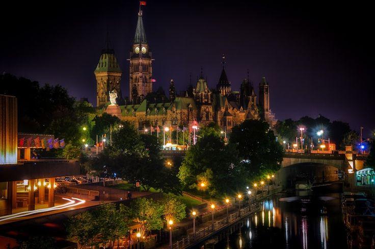 Oh Canada by Tom Baker - Buildings & Architecture Public & Historical ( canada, ottawa, parliament hill )
