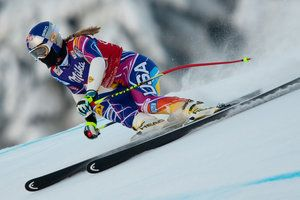 Lindsey Vonn - downhill and Super G alpine skiing | Red Bull