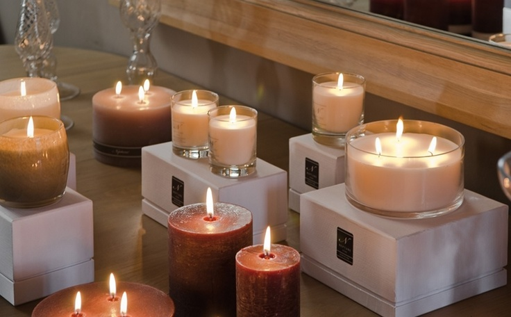 Candles.  Neptune Southport.