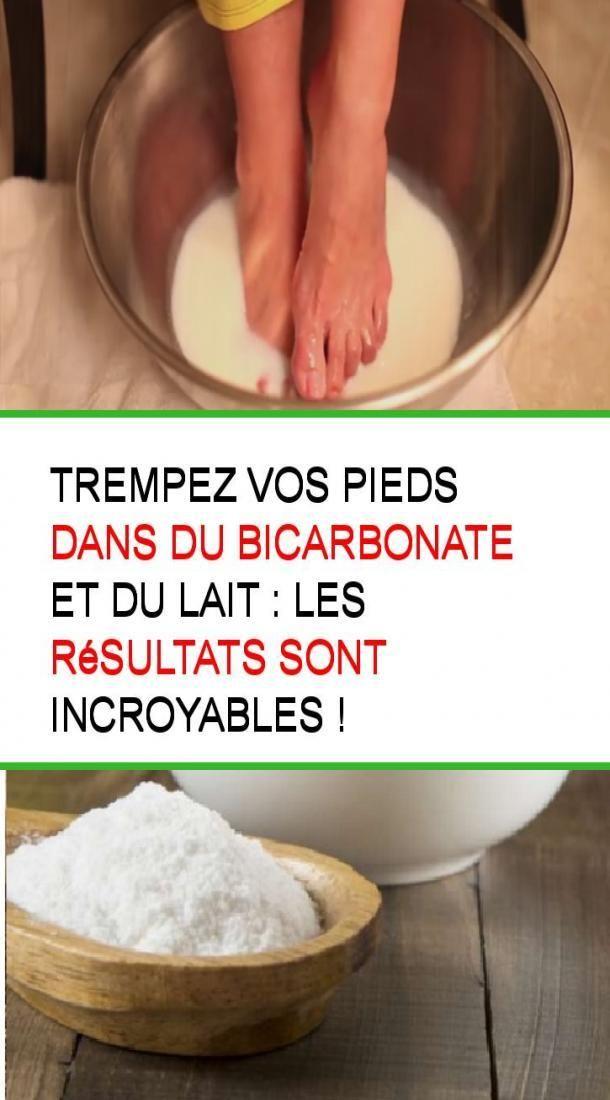 Immergi i piedi in bicarbonato di sodio e latte: i risultati sono incredibili …