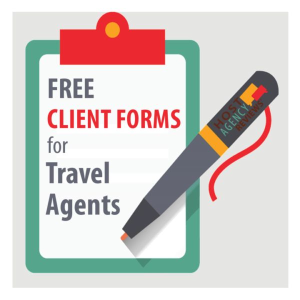No strings attached. Completely free travel agent forms to streamline your travel agency. All you need to do is upload your logo and you're set to go!