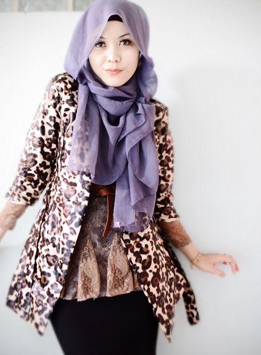 New Hijab Style 2013 Trends Fashion
