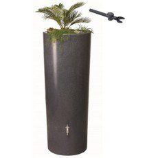 Récupérateur d'eau de pluie GARANTIA Kit Réservoir Stone 350 L Lava complet
