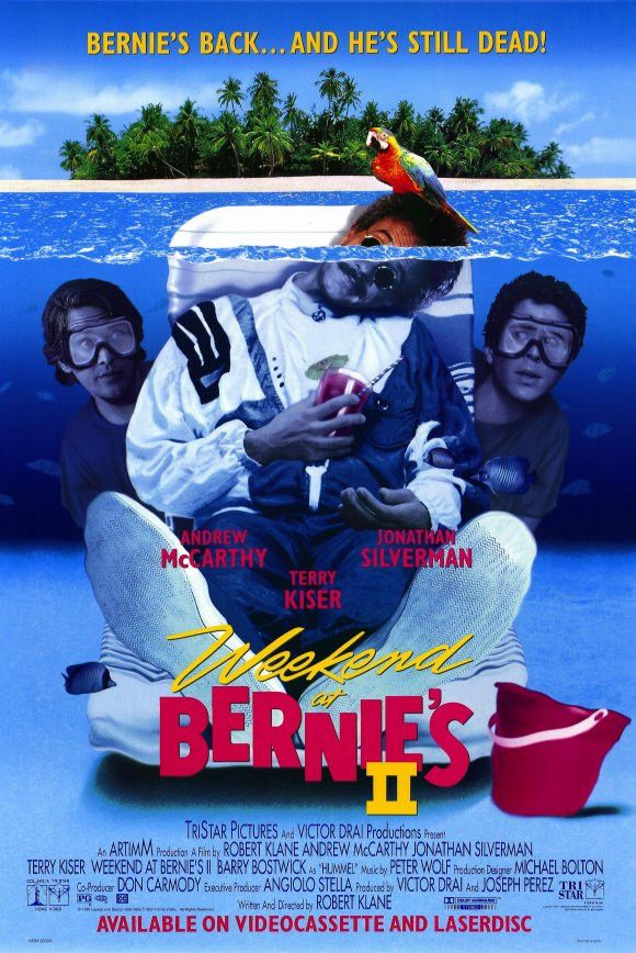 Weekend at Bernies 2 11x17 Movie Poster (1993)