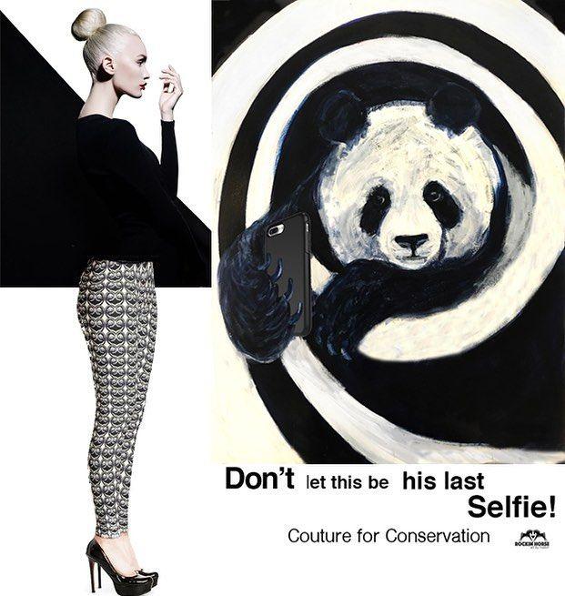 I ❤ panda leggings by @rockinhorseartbymason #love #pants #panda  #styleblogger