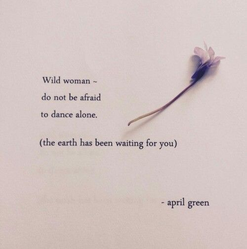Why Be Afraid to Dance