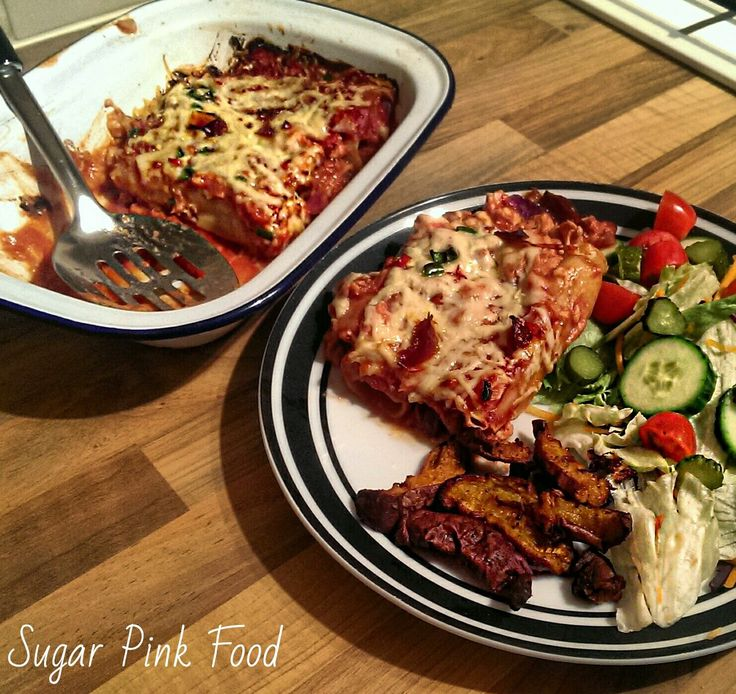 """Sugar Pink Food: Slimming World Recipe:- """"I Can't believe it's not Enchiladas!"""""""