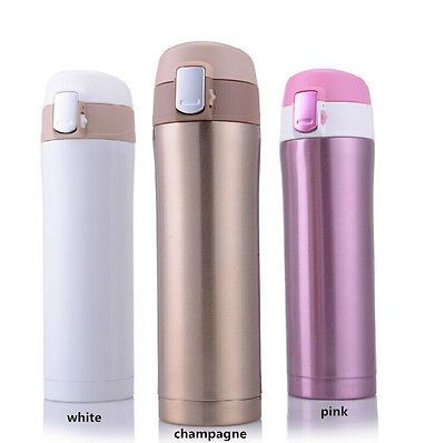 new travel mug Office Tea Coffee Water cup bottle stainless steel thermos cup