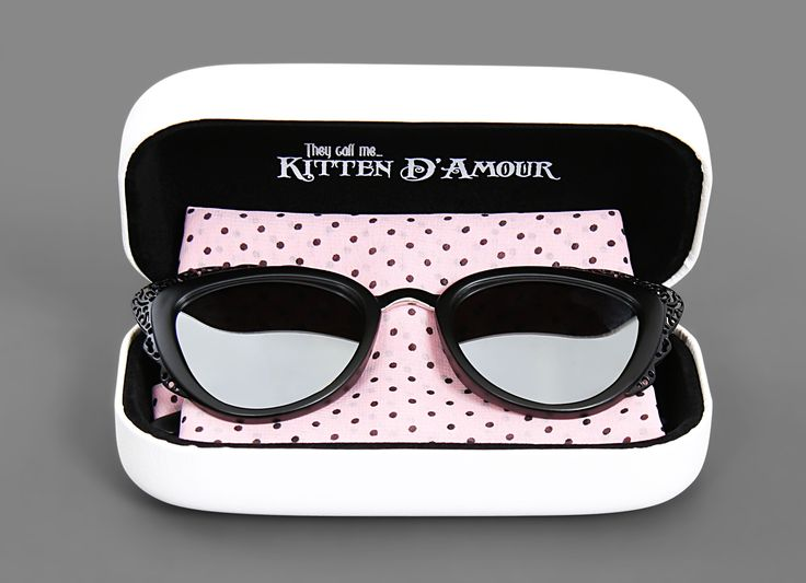 Chantilly Black Mirror Sunglasses