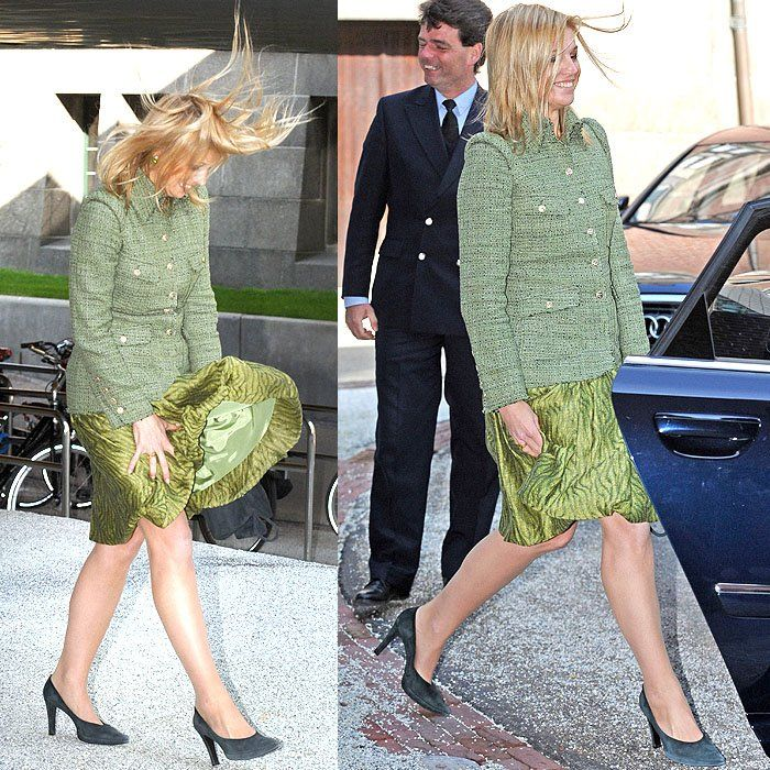 21 Celebrities with Their Dresses and Skirts Caught in the Wind