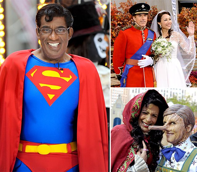 """Today Show""  Halloween Costumes Through the Years!"