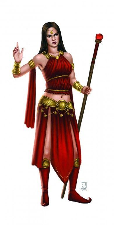 Die Drachenei-Magierin aus Khunchom - Ein neuer Charakter für die Tulamidischen Reiter